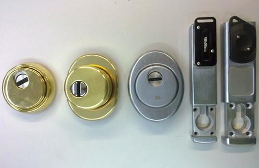 Tipos de escudos para cerraduras